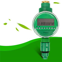 TTLIFE Digital Irrigation System with Solenoid Valve and Automatic Electronic Water Timer LCD Display For Garden Watering