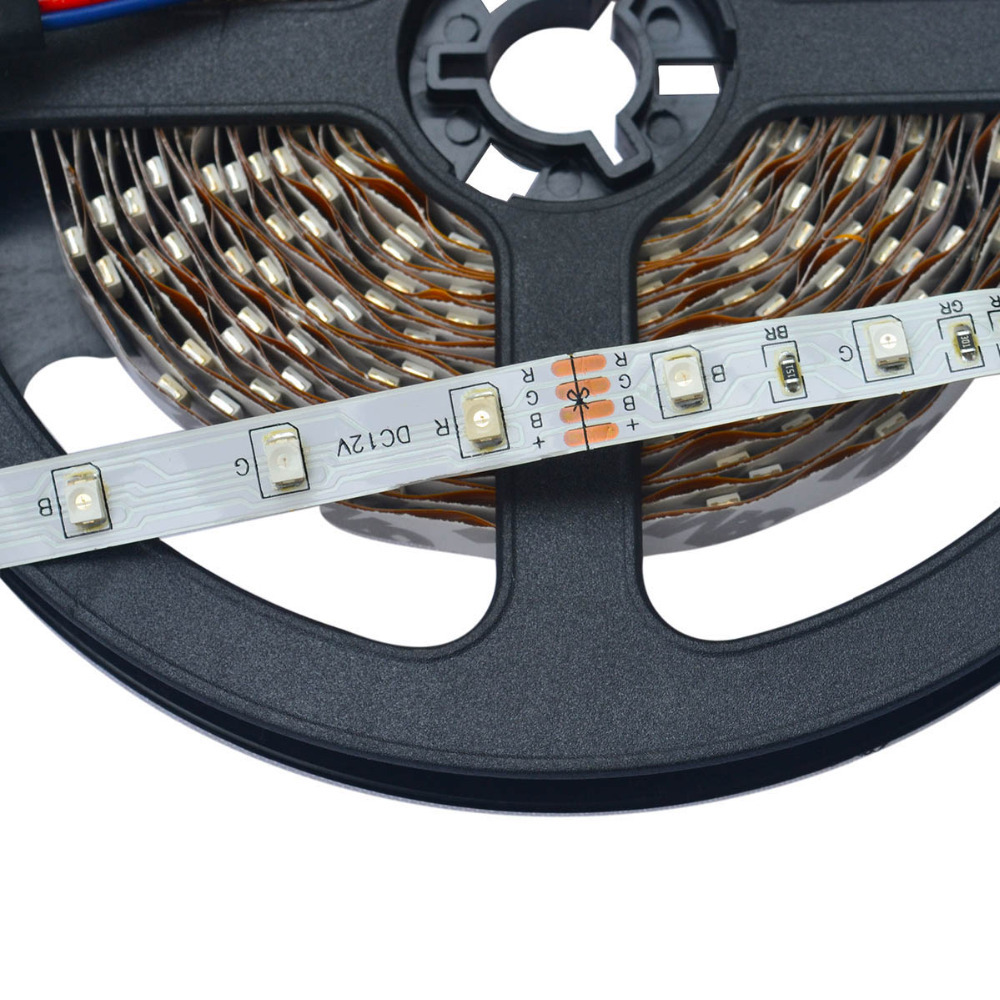 500CM 25W 300X3528 SMD RGB LED şeridi işıq W / Uzaqdan idarəedici - LED işıqlandırma - Fotoqrafiya 3