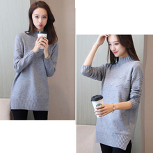 Turtleneck Knitted Loose Pullover