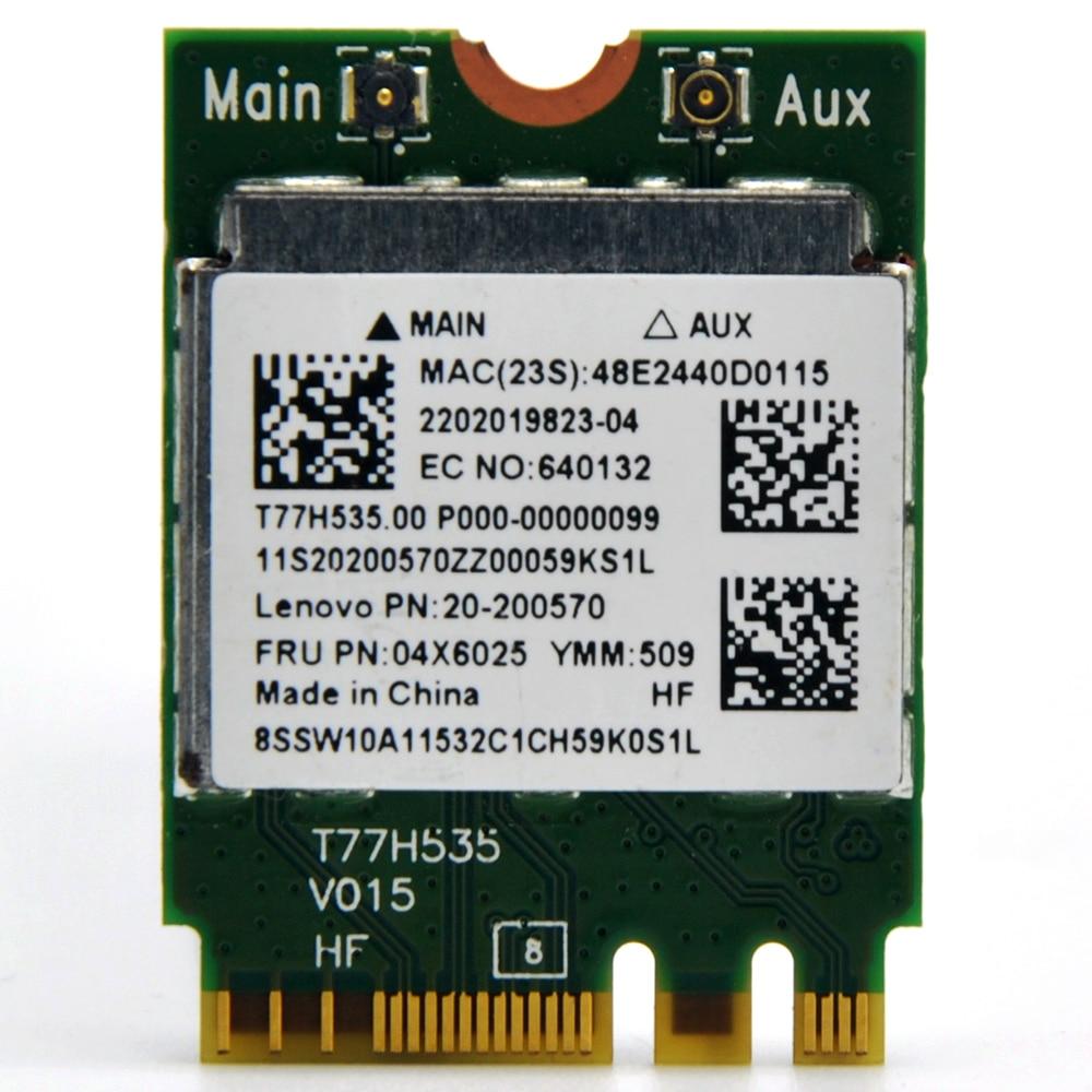 US $7 25 |Realtek RTL8723BE 300Mbps 802 11n NGFF Wireless Mini PCI E WiFi  Adapter + Bluetooth 4 0 WLAN card for Lenovo E450 E550 E555 Y50-in Network
