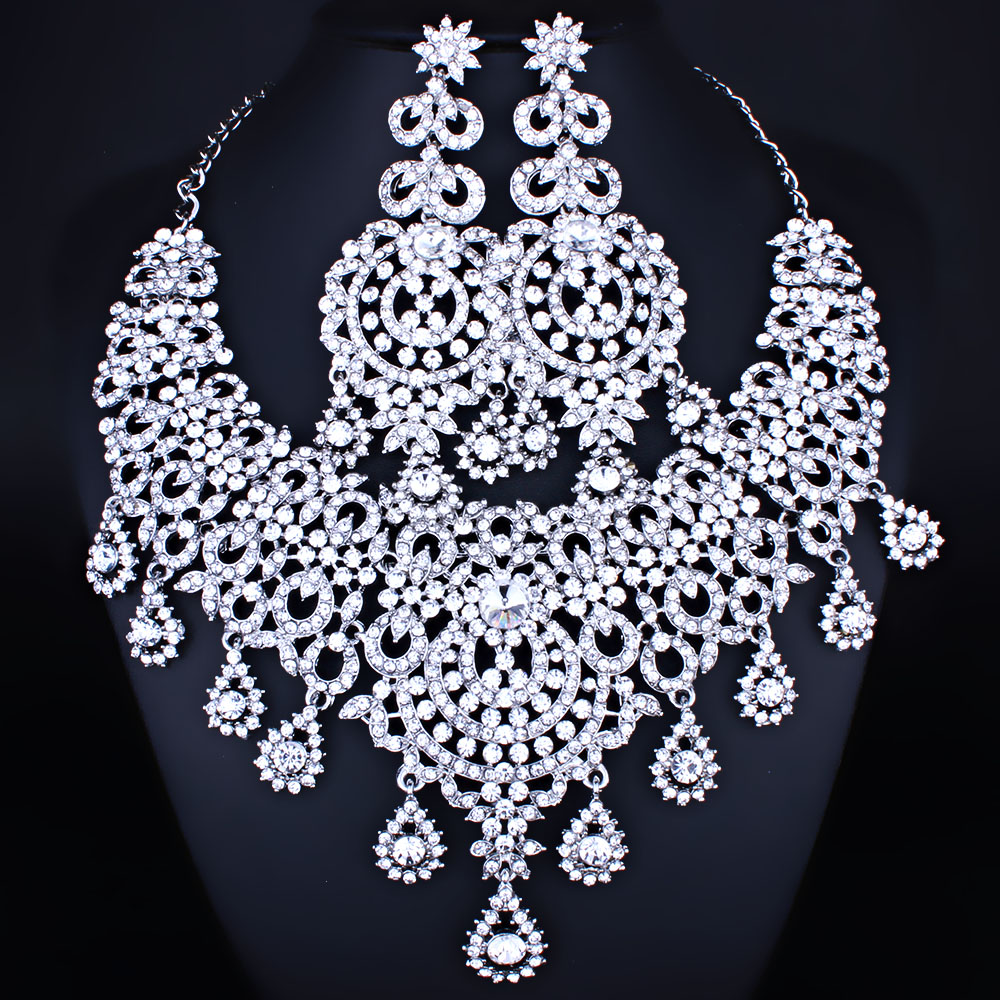 collier argent marocain