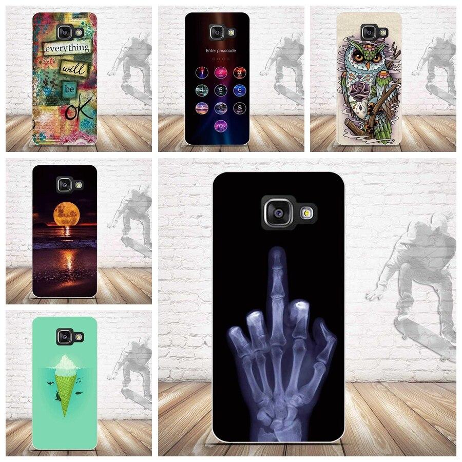 Tpu soft case para samsung galaxy a3  a310 casos volver cubierta del teléfono de