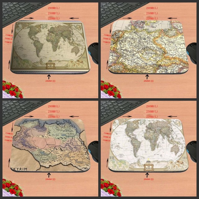 Light yellow world map game antiskid rectangular durable computer light yellow world map game antiskid rectangular durable computer mouse pad custom size decorate gumiabroncs Images