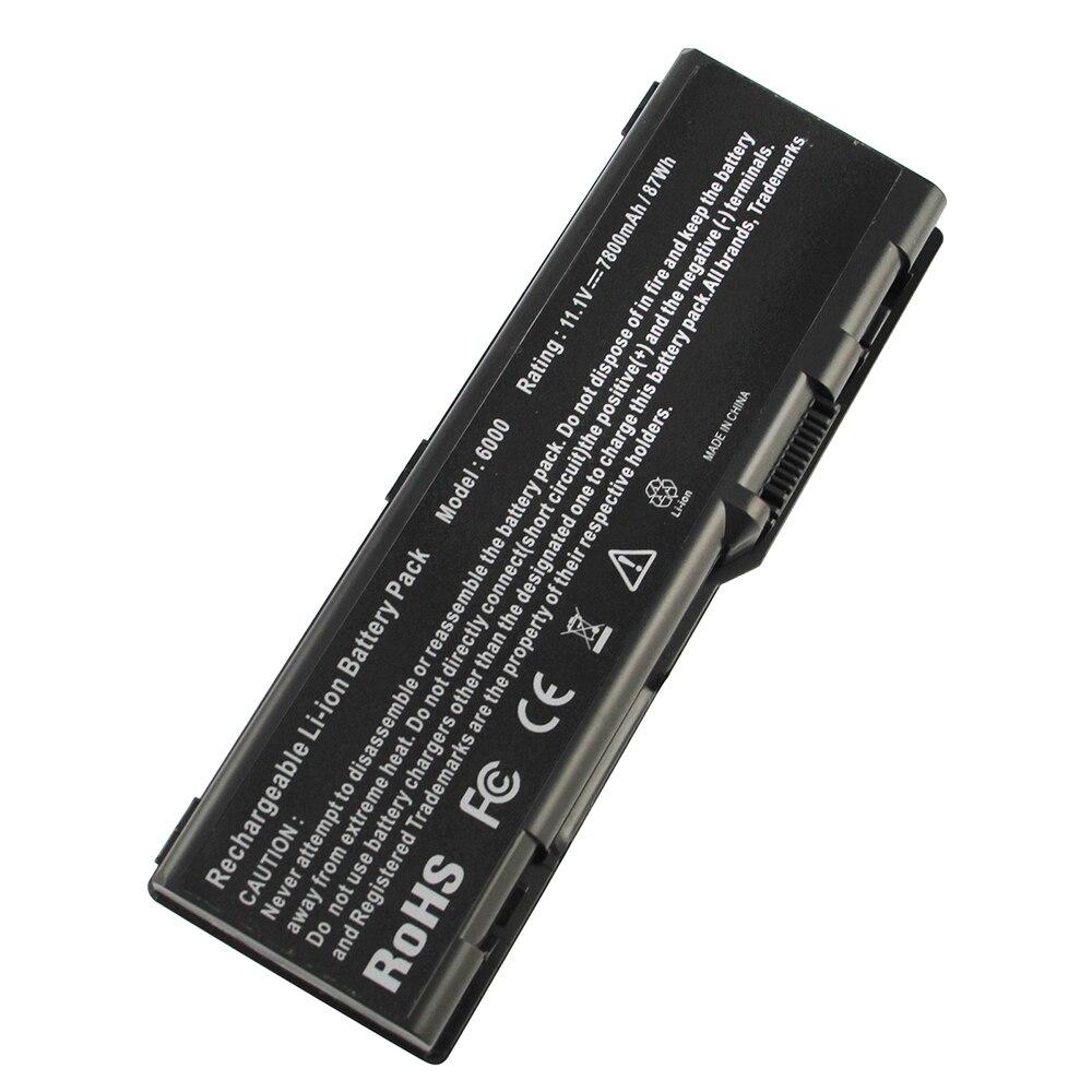 7800 MAH para Dell Inspiron 6000 batería del ordenador portátil M1710 9300 XPS Gen 2 M90 9400 M6300 C5974 D5318 F5635 G5260 g5266 GG574 U4873