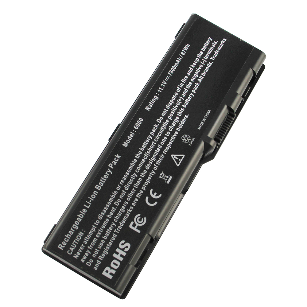 7800mAh for Dell laptop battery Inspiron 6000 M1710 9300 XPS Gen 2 M90 9400 M6300 C5974 D5318 F5635 G5260 G5266 GG574 U4873 аккумулятор topon top dl9200 11 1v 4400mah для dell inspiron 6000 9200 9300 9400 e1705 xps gen 2 xps m170 xps m1710 precision m6300 m90 series аналог pn g5266 g5260 d5318 310 6321 310 6322