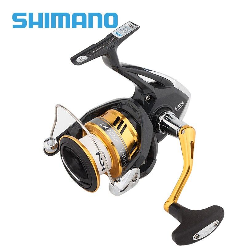 Shimano SAHARA FI Spinning Fishing Reel 500 1000 c2000s 2500 C3000 4000 5BB Gear Ratio 5