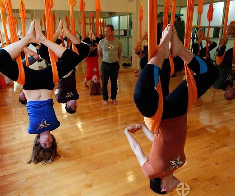 yoga hammock swing yoga belts yoga swing stretching strap(30)