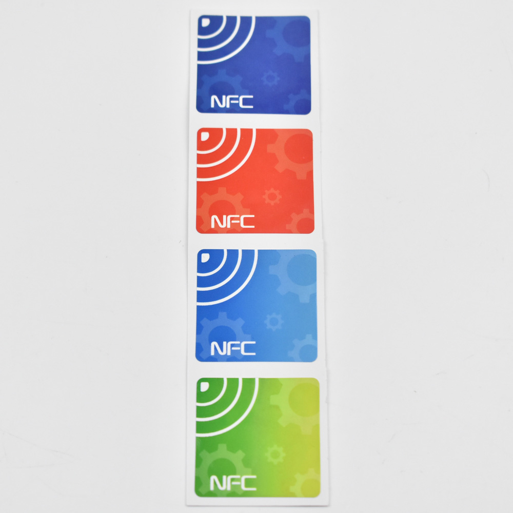 4pcs/lot NFC TAG Sticker 13.56MHz ISO14443A NTAG 213 NFC Sticker Universal Lable RFID Tag for all NFC enabled phones dia 30mm 10pcs nfc tag sticker 13 56mhz iso14443a ntag 213 nfc stickers universal lable ntag213 rfid tag for all nfc phones