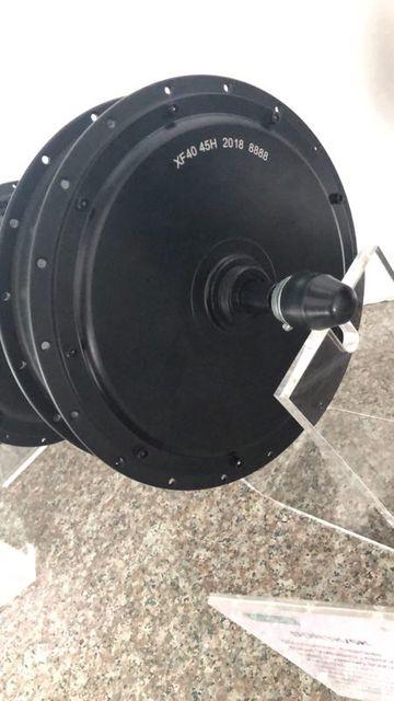 EVFITTING (MXUS) Motor de radios de bicicleta e buje, 48V, 3000W, Motor CC sin escobillas para rueda trasera