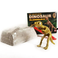 Dinosaur Excavation Kit Archaeology Dig Up Fossil Skeleton Toy Gift for kid 5 7 Years Animals & Nature