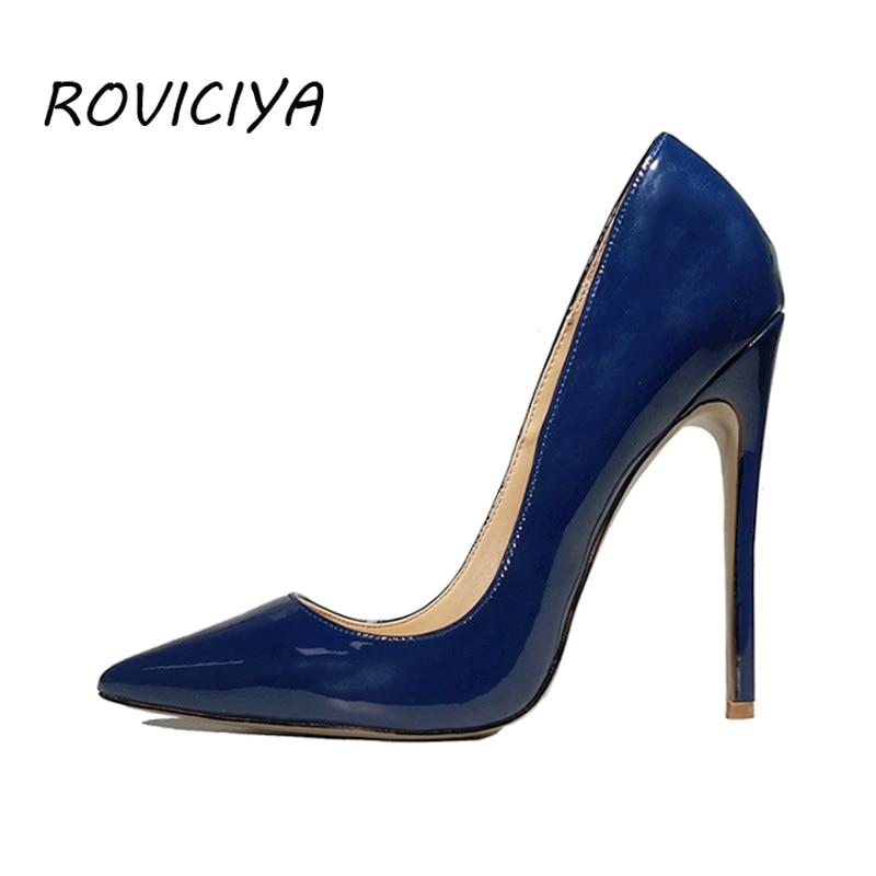 Dark Blue Heels