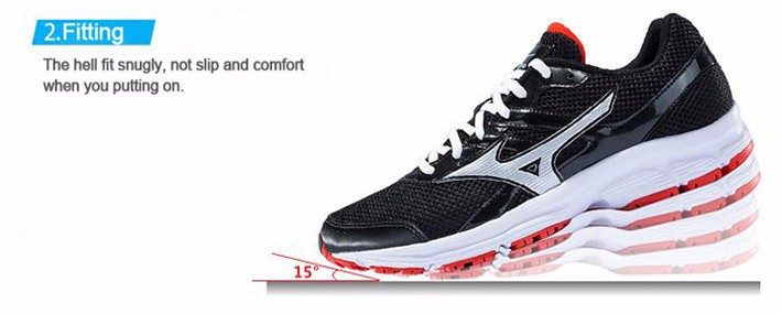 MIZUNO Men SPARK Mesh Breathable Light Weight Cushioning Jogging Running Shoes Sneakers Sport Shoes K1GR160370 XYP303 4