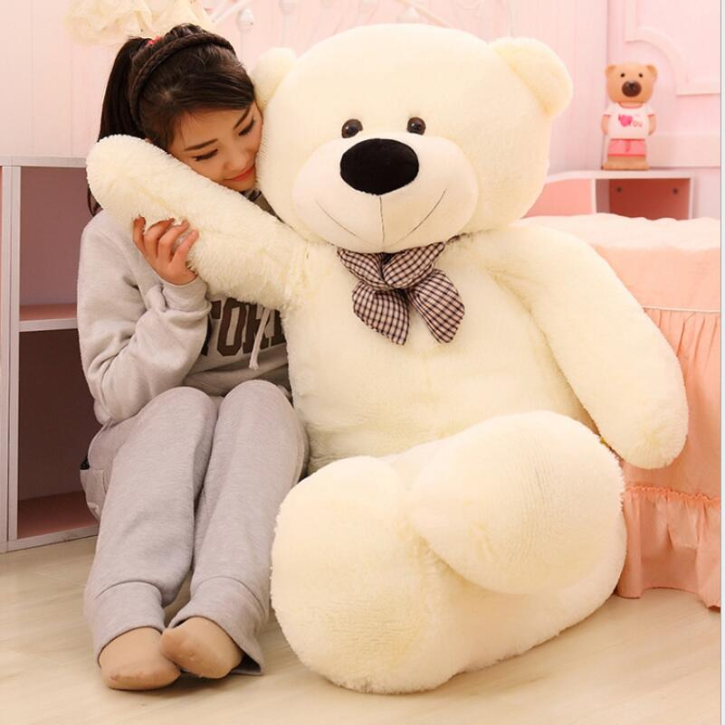 Kawaii 32 80CM Giant Teddy Bear Plush Toys Kids Toys Stuffed Ted Cheap Price Gifts for Kids Girlfriends Birthday Christmas big size teddy bear ted 2 plush toys in apron 45cm soft stuffed animals ted bear plush dolls for baby kids christmas gifts