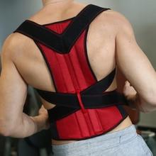 Unisex Adjustable Back Posture Corrector Brace Shoulder Support Belt Correction for Men Women S-XXL Healt