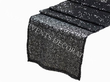 100pcs YHR#101 sequins satin table runner for any events decoration, customized size available