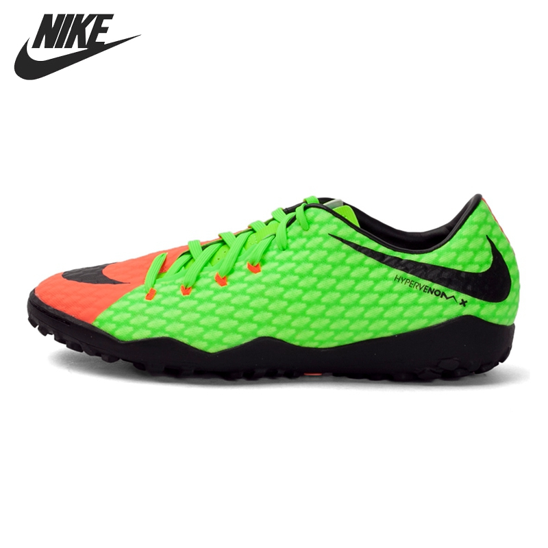 Original New Arrival 2017 NIKE HYPERVENOMX PHELON III TF Men's Football Shoes Soccer Shoes Sneakers tiebao a13135 men tf soccer shoes outdoor lawn unisex soccer boots turf training football boots lace up football shoes