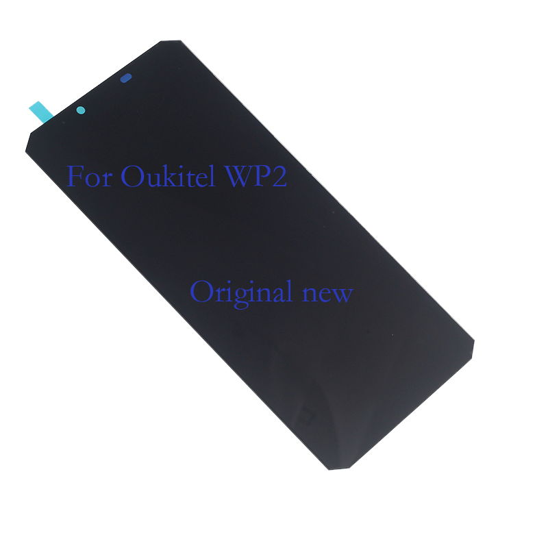 Original brand new 6.0 inch for Oukitel WP2 LCD + touch screen digitizer mobile phone component replacement + tool 100% test-in Mobile Phone LCD Screens from Cellphones & Telecommunications