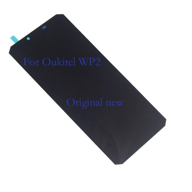แบรนด์เดิมใหม่สำหรับOukitel WP2 LCD + หน้าจอสัมผัสDigitizerโทรศัพท์มือถือส่วนประกอบReplacement + เครื่องมือทดสอบ 100%