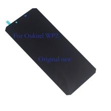 オリジナルブランド新ディスプレイ Oukitel WP2 液晶 + タッチスクリーンデジタイザ携帯電話コンポーネント交換 + ツール 100% テスト