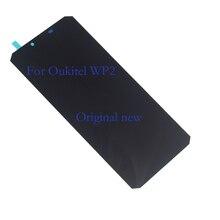 מקורי חדש לגמרי תצוגה עבור oukitel WP2 LCD + מסך מגע digitizer נייד טלפון רכיב החלפה + כלי 100% מבחן