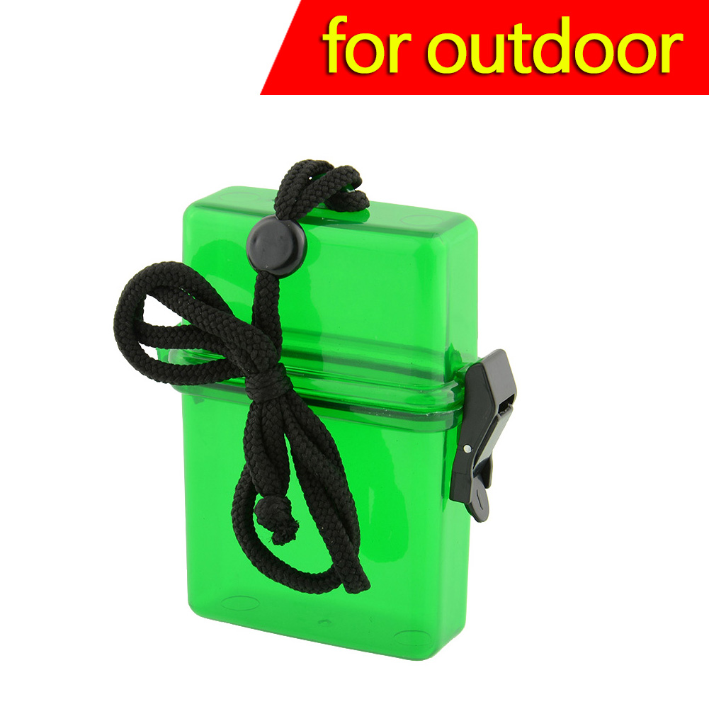 Swim Waterproof Plastic Container Storage Case Key Money Box Card NEW