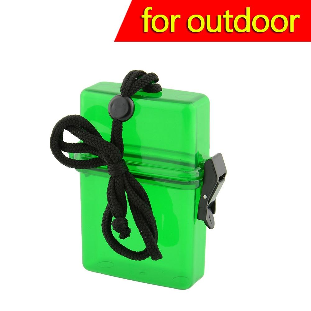 Swim Waterproof Plastic Container Storage Case Key Money Box Card NEW