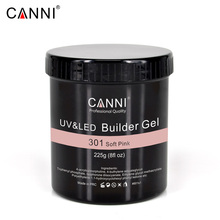 225g 8oz CANNI Camouflage thinn Jelly UV Soak Off 25 stick uv Builder Gel manicure Multi-function nails transparent uv nail gel
