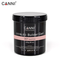 225g 8oz CANNI Camouflage thinn Jelly UV Soak Off 25 stick uv Builder Gel manicure Multi function nails transparent uv nail gel