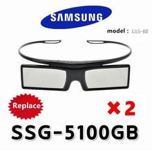Penggantian 2X gelas 3D aktif SSG-5100GB TDG-BT500a / 400 untuk Samsung Sony KD-55X8505C 3D TV dan epson projektor
