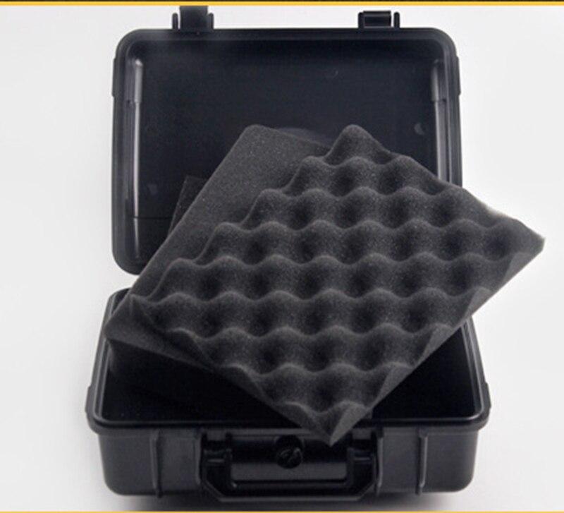 270*230*100 мм Водонепроницаемый случае инструмент Toolbox Камера корпусом прибора окне чемодан ударопрочный герметичный с предварительно -cut пена ...