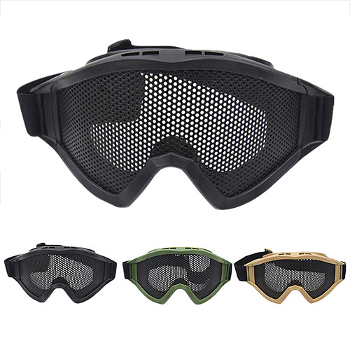 Mesh Goggles Protective Safety Goggles Metal Mesh Glasses Protective Glasses PP8-0018