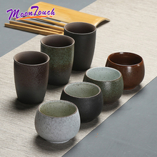 Coffee Pottery Water Cup Ceramic Mug Japanese Style Drinkware Kung Fu Tea Teacup Kettle Ceremony Leaves Storage Container