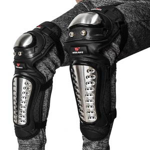 Image 5 - WOSAWE Off Road Motorcycle Armor Alloy Stainless Steel Racing Protective Gear Motorcycle Jacket+Shorts Pants+Knee Pads+Gloves