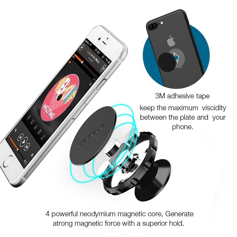 Cafele Μαγνητική κάτοχος αυτοκινήτου - Ανταλλακτικά και αξεσουάρ κινητών τηλεφώνων - Φωτογραφία 3