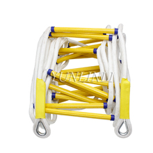 15M Rock Climbing Aerial Work Rescue Rope Ladder Fire Escape Ladder Emergency Work Safety Response Fire Rescue rock werchter festival arcade fire thursday
