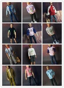5 комплектов одежды, кукла-парень Барби, 1/6 Кен, красивые детские игрушки, подарок для девочек, аксессуары для мальчиков, кукла, повседневный ...