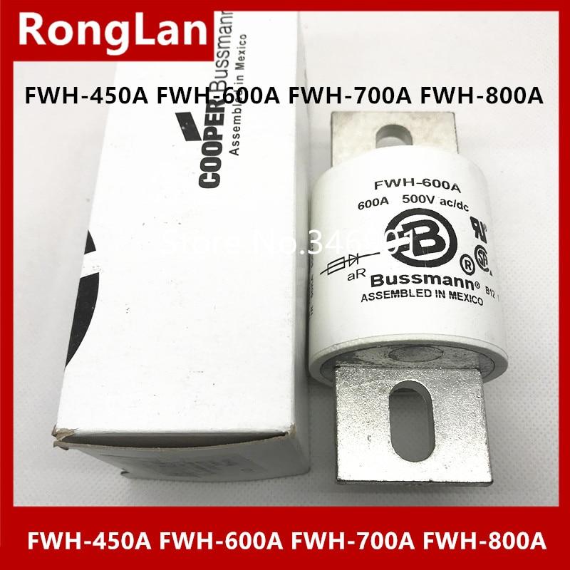 [SA] NOUS Bussmann Fusibles FWH-450A FWH-600A FWH-700A FWH-800A 450A 600A 700A 800A 500 V ac/dc Fusible