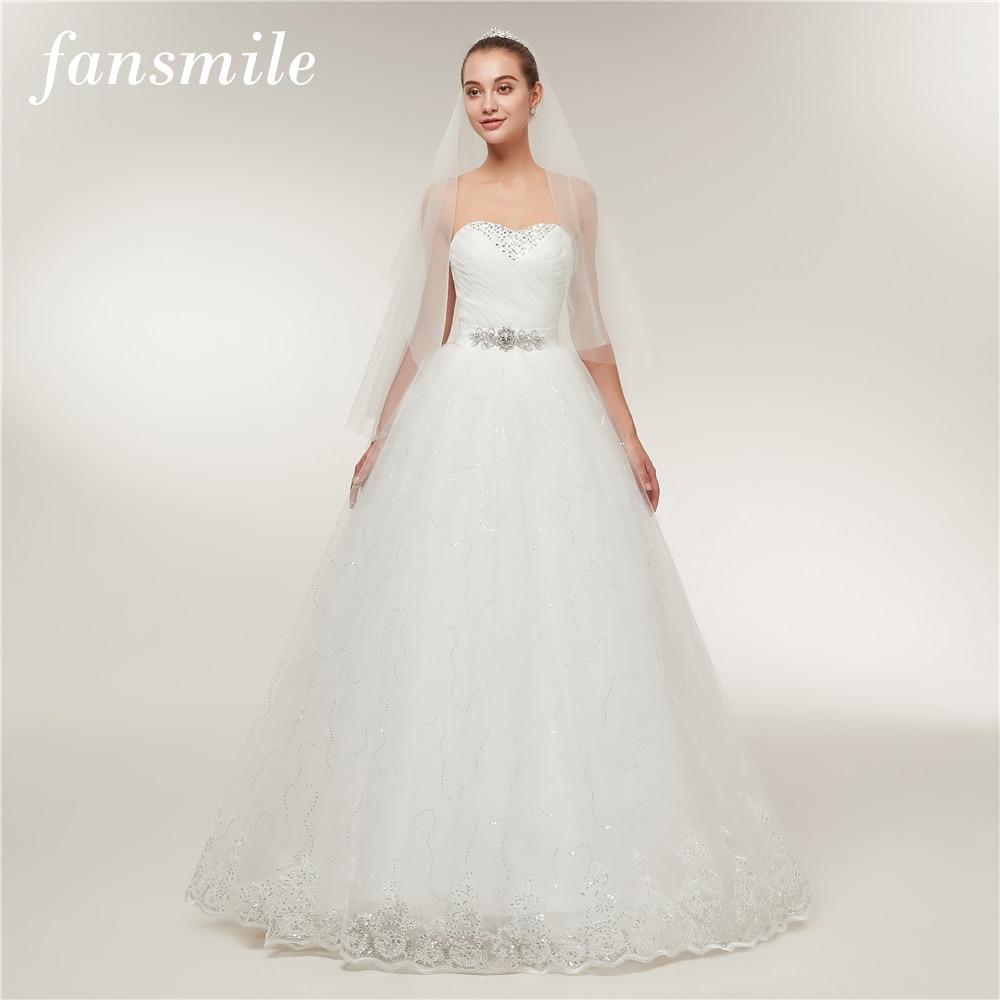 Fansmile Günstige Vintage Spitze Braut Hochzeit Kleider 2017 ...
