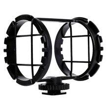 BOYA BY-C03 башмак для камеры Shockmount для микрофонов диаметром от 1 до 2 дюймов(подходит для Zoom H1