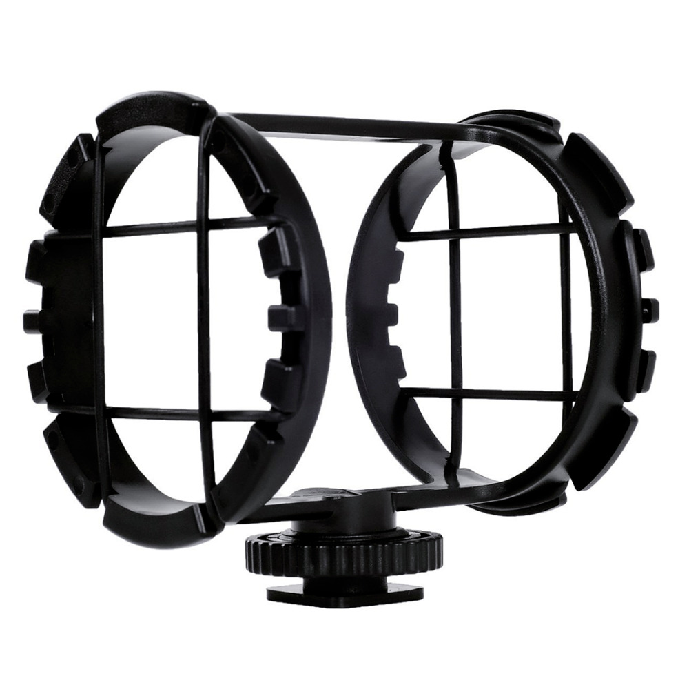 BOYA BY-C03 Camera Shoe Shockmount for Microphones 1 to 2 in Diameter (Fits the Zoom H1)