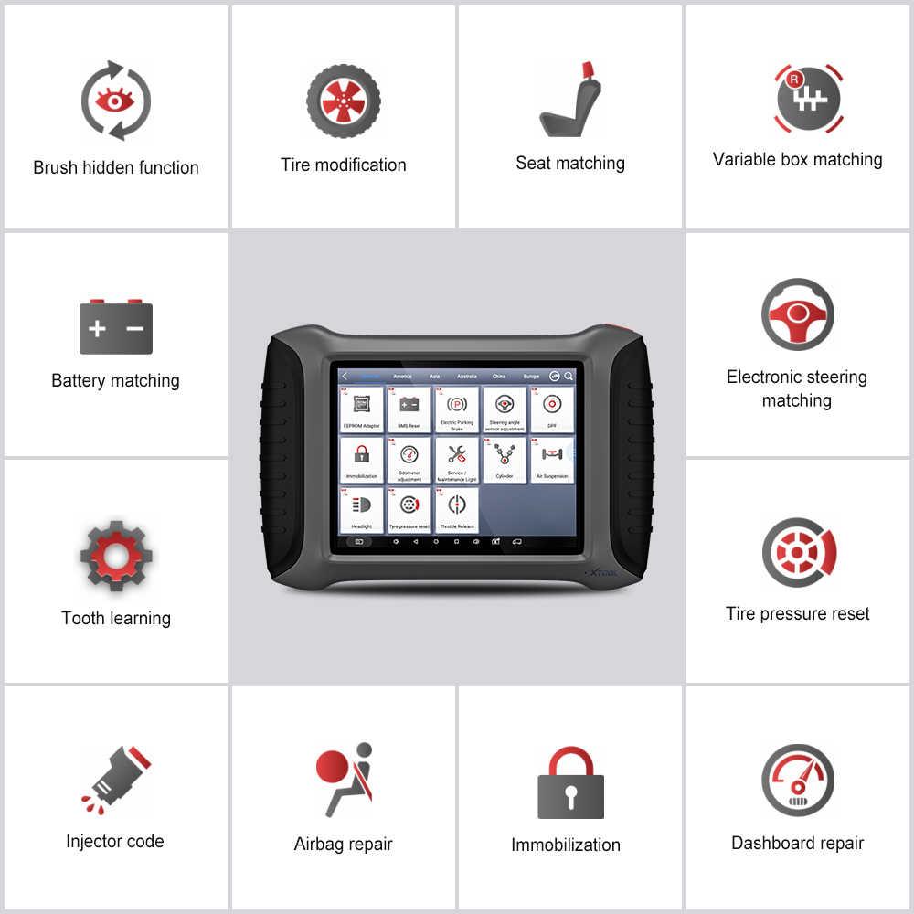 2018 XTOOL A80 H6 Full System Car Diagnostic tool Car OBDII Car Repair Tool  Vehicle Programming/Odometer adjustment