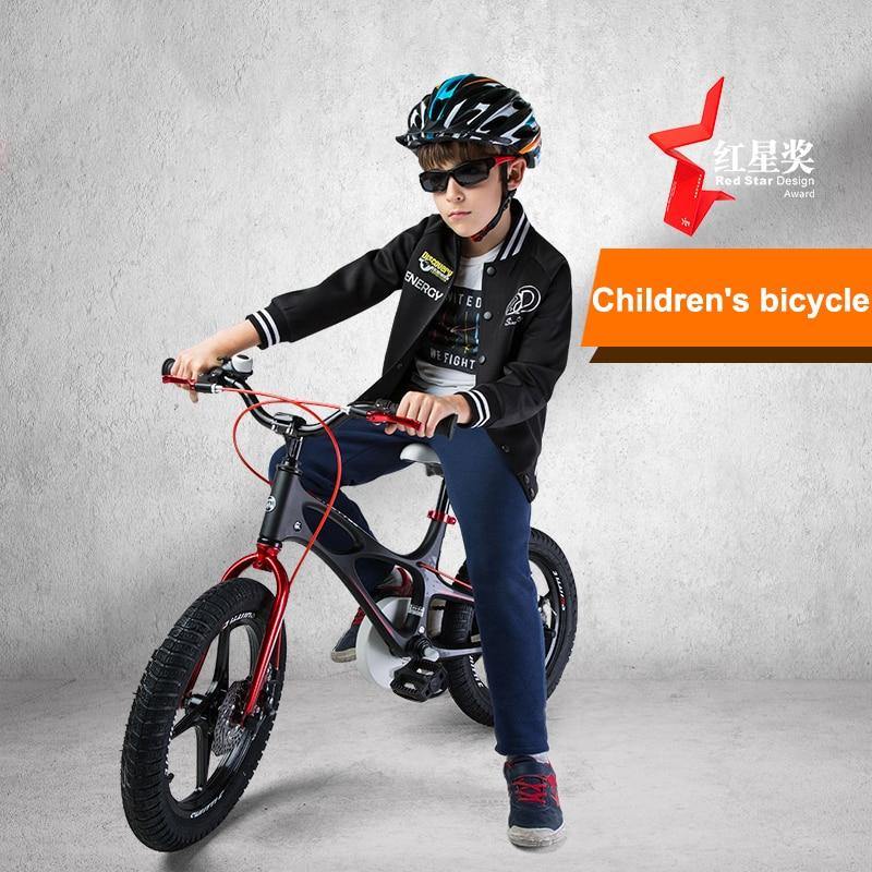 Enfants vélo 14/16/18 pouces garçons et filles bébé poussette 3-6 ans en alliage de magnésium vélo activités de plein air plage montagne