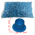 big size blue lnk TATTOO INK CUPS Caps 1000 pcs Pigment Supplies Plastic Self-standing Ink Cups free shipping