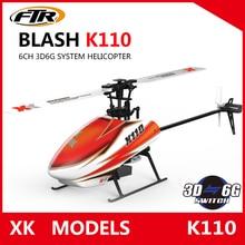 Wltoys XK K110 Blash 6-КАНАЛЬНЫЙ Бесщеточный 3D6G Система управления по радио Вертолет RTF игрушки дистанционного управления ПРОТИВ Wltoys V977