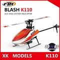 Wltoys XK K110 Blash 6CH Brushless 3D6G System radio control RC Helicopter RTF remote control toy VS Wltoys V977