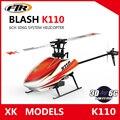 Wltoys xk k110 blash sistema 3d6g brushless 6ch rc helicóptero radio control rtf control remoto juguete vs wltoys v977