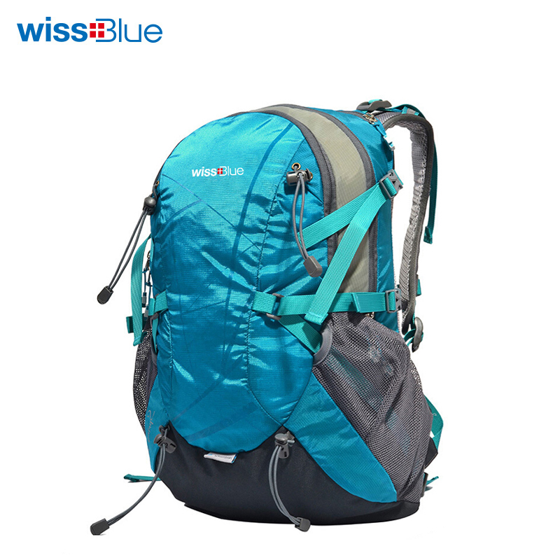 WissBlue Hiking Backpack Travel Daypack Outdoor Sports Waterproof Backpack Camping Pack Trekk Rucksack Men Women