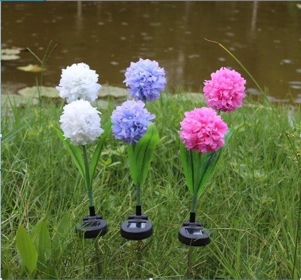 GüNstiger Verkauf Nützlich Und Schöne Solar Power Blume Garten Stake Landschaft Lampe Außen Yard Chic Blume Lampe Dekoration Modische Neue Freigabepreis
