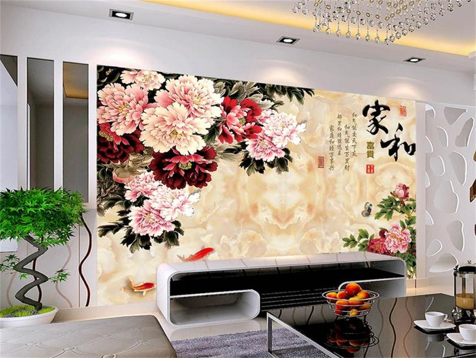 3d custom photo mural 3d wallpaper marble stone paint for Custom photo mural