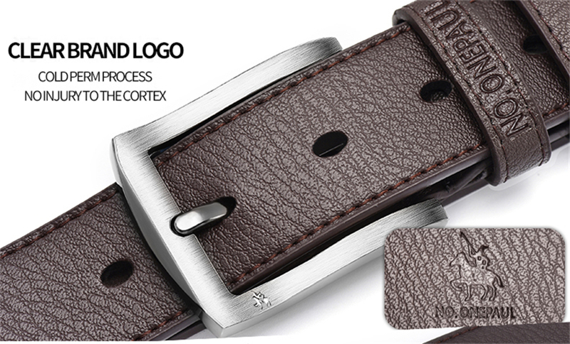 HTB1C2QFaiYrK1Rjy0Fdq6ACvVXaV - NO.ONEPAUL buckle men belt High Quality cow genuine leather luxury strap male belts for men new fashion classice vintage pin